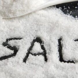 Increased salts in the body .. Symptoms and treatment